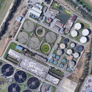 Estación Depuradora de Aguas Residuales Copero-Sevilla